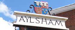 The Aylsham Town Sign