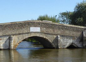 The Medieval Bridge at Potter Heigham