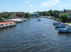 The River Bure at Wroxham